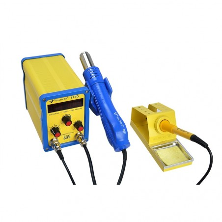 SOLDRON 878D SMD 2in1 Hot Air Rework Soldering Station