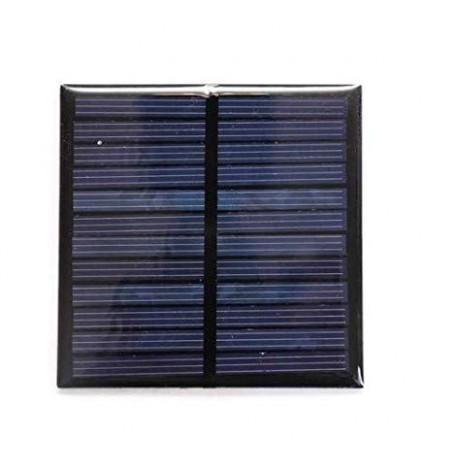 Solar Panel 6V-100 mAh (70 x 70 x 03 mm)