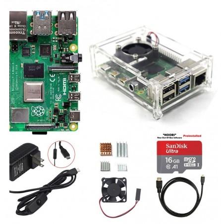 Raspberry Pi 4 Model B 4GB RAM Starter kit