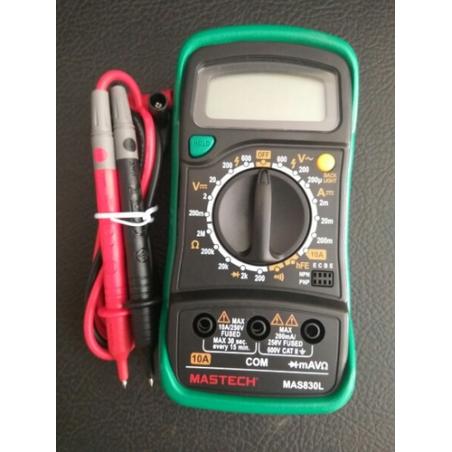 Digital Multimeter - Mastech MAS830