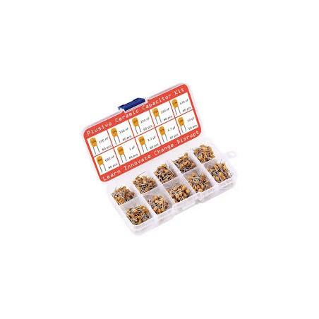 Assorted Ceramic Capacitors Box