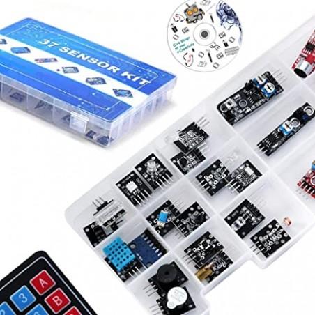Ultimate 37 in 1 Sensor Modules Kit for Beginners