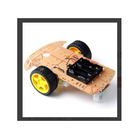 Smart Robot Car Chassis Kit - 2Wheel