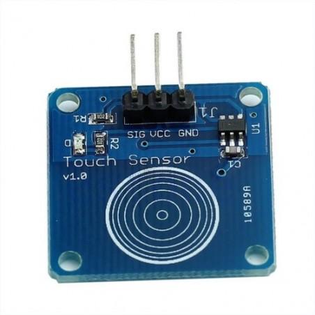 TTP223 - 1 Channel Capacitive Touch Sensor Module