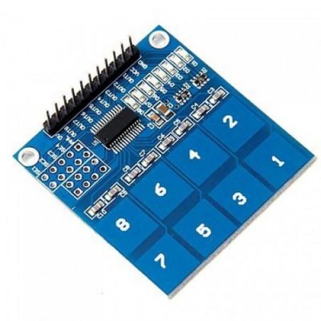 TTP226 - 8 Channel Capacitive Touch Sensor Module
