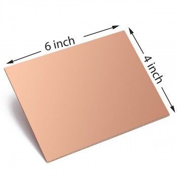 Copper PCB 6x4 - Pack of 10