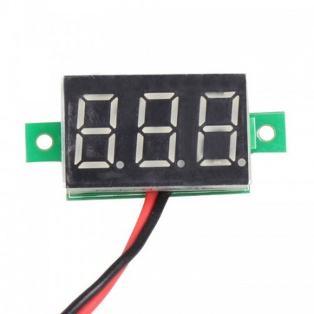 Digital DC Voltmeter Mini 0.36 inch - 2 Wire Module - 4.5V to 30V