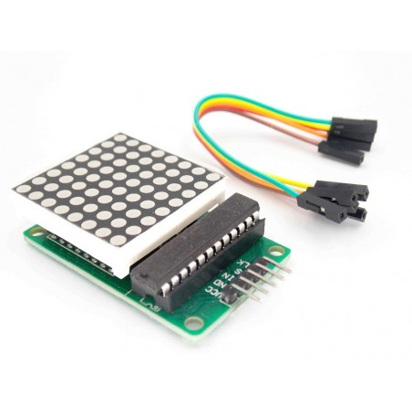 MAX7219 Dot Led Matrix Module MCU Control