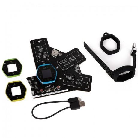 Hexiwear Wearable Development Kit (MIKROE-2026 + MIKROE-2094)